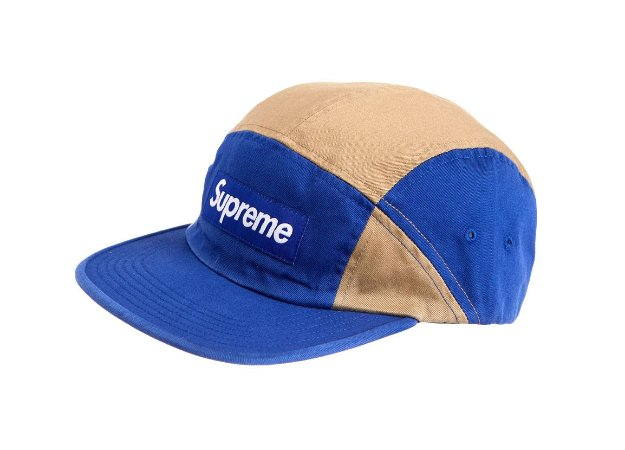 Boné 5-Panel Supreme Contrast Camp - Royal