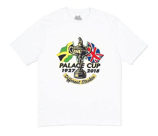 Camiseta Palace Cup - White