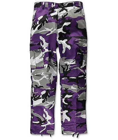 Calça Rothco Camo - Purple