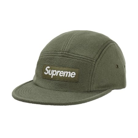 Boné 6-Panel Supreme Wool Camp Cap - Olive