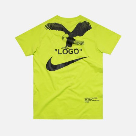 Camiseta Nike X OFF-WHITE NRG - Green