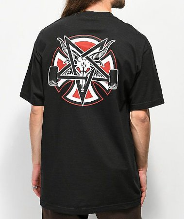 Camiseta Independent x Thrasher Pentagram - Black