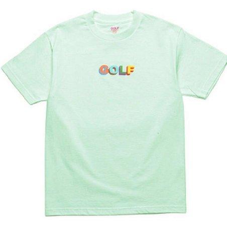 Camiseta Golf Wang 3D Multi Color - Green
