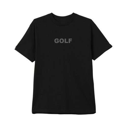 Camiseta Golf Wang Logo Reflective 3M - Black