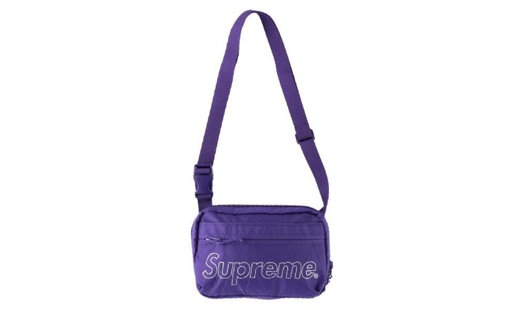 Supreme Shoulder Bag (FW18) - Purple