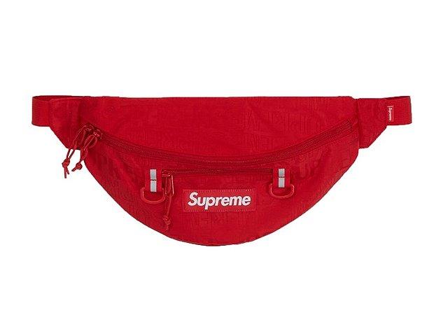 Supreme Waist Bag (FW19) - Red