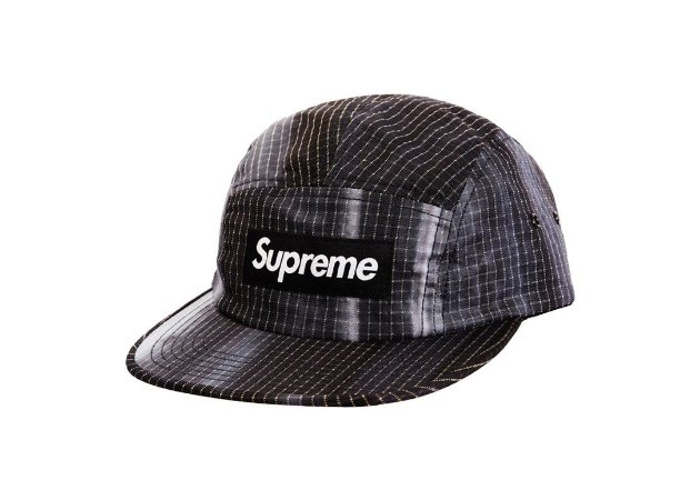 Boné 5-Panel Supreme Tie Dye - Black