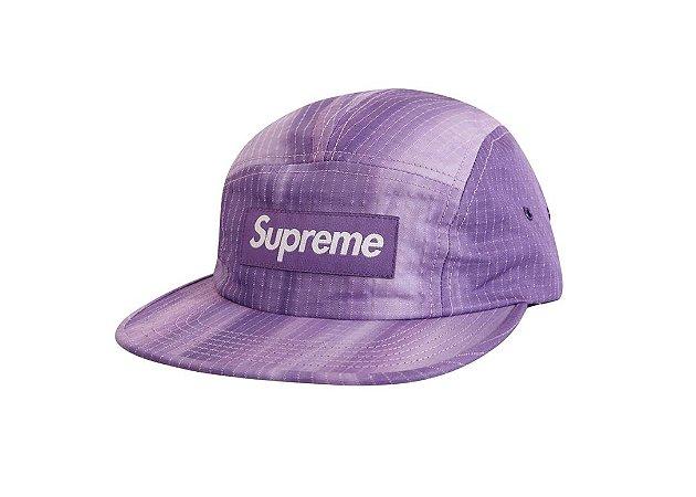 Boné 5-Panel Supreme Tie Dye - Purple