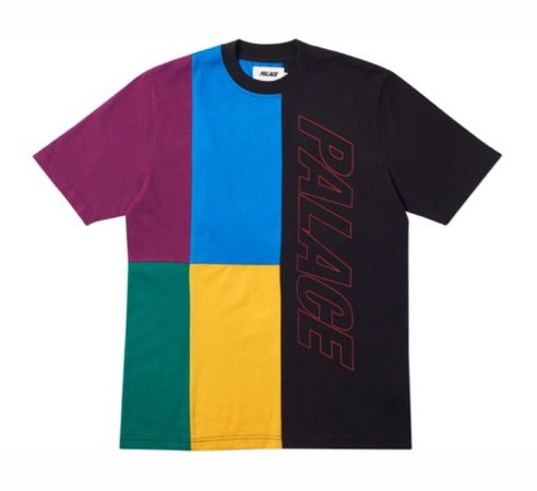 Camiseta Palace Flaggin - Black