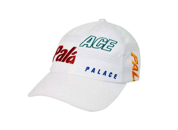 Boné 6-Panel Palace Patch - White