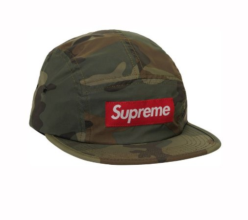 Boné 5-Panel Supreme Reflective Woodland - Camo
