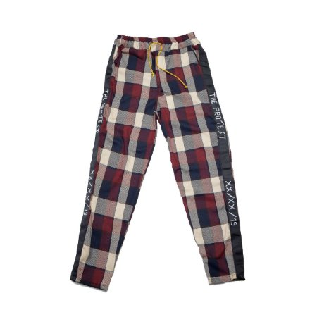 The Protest Manuscript Pants - Wine