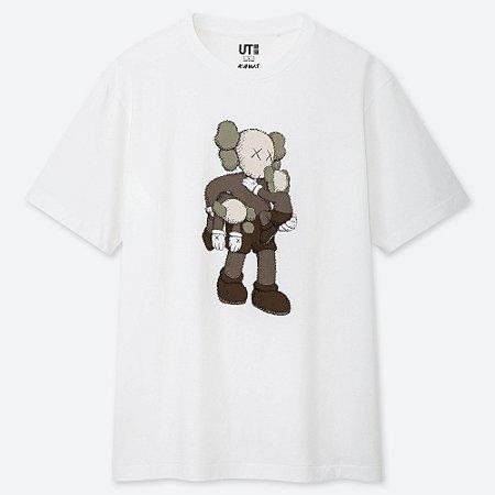 Camiseta Kaws Ut - White