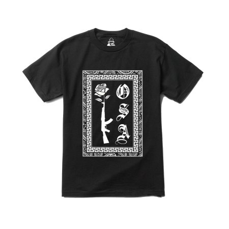 Camiseta Four Gang AK Kosa Nostra - Black