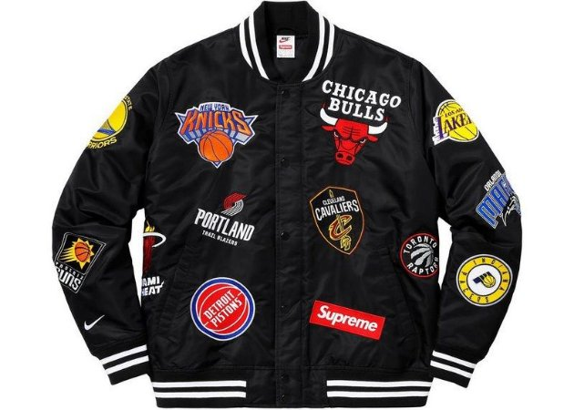 Jaquea Supreme Nike NBA Teams Warm-Up - Black