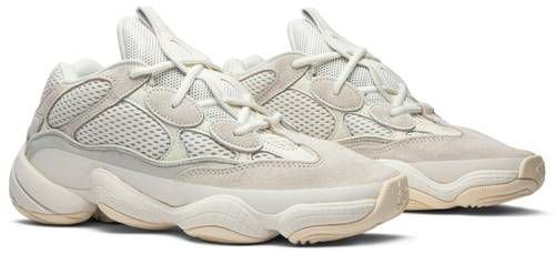 Tênis Adidas Yeezy 500 - Bone White