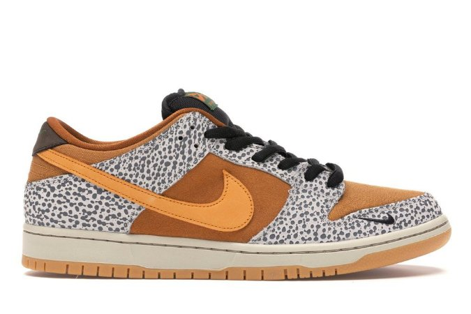 Tênis Nike SB Dunk Low - Safari