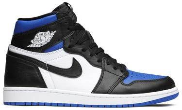 Tênis Nike Air Jordan 1 Retro High OG - Royal Toe