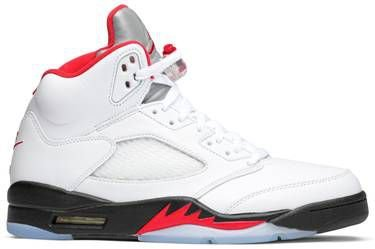 Tênis Nike Air Jordan 5 Retro - Fire Red
