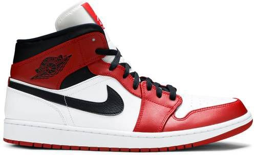 Tênis Nike Air Jordan 1 Mid Chicago - 2020