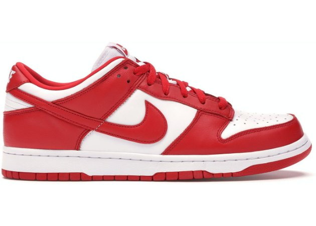 Tênis Nike Dunk Low University Red