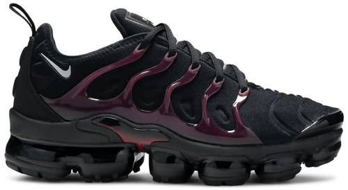 Tênis Nike Air VaporMax Plus - Black Noble Red