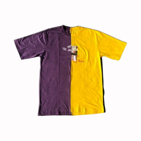 Camiseta The Protest x 894Studios - Purple/Yellow