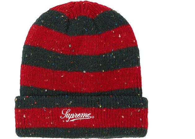 Touca Supreme Stripe Speckle - Red