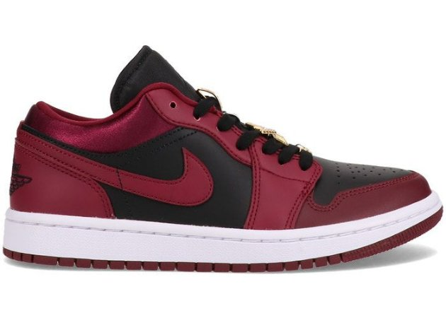 Tênis Nike Air Jordan 1 Low - Dark Beetroot (W)