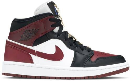 Tênis Nike Air Jordan 1 Mid SE - Dark Beetroot (W)