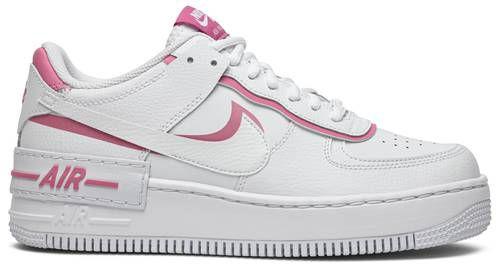Tênis Nike Air Force 1 Shadow White - Magic Flamingo (W)