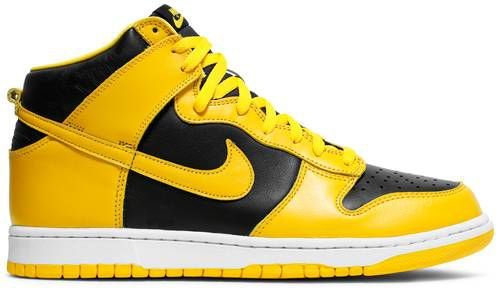 Tênis Nike Dunk High SP - Black Varsity Maize