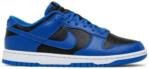 Tênis Nike Dunk Low - Black Hyper Cobalt (2021)