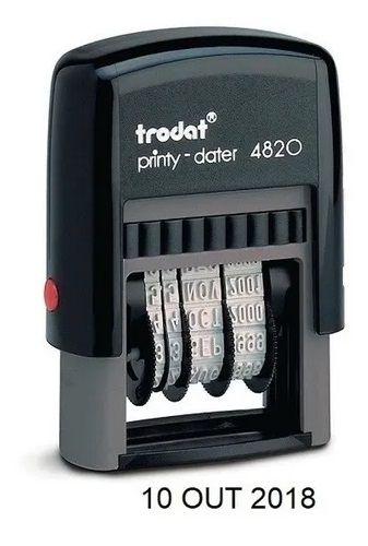 Datador Trodat 4820 - 4mm De Altura - Somente Data