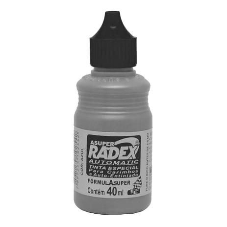Tinta para Carimbo Automatic Preto Radex 40ml
