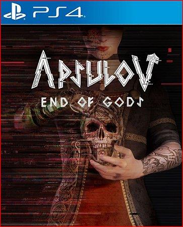 apsulov end of gods ps4 mídia digital