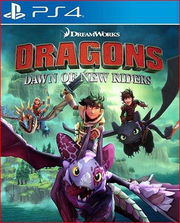 DREAMWORKS DRAGONS DAWN OF NEW RIDERS PS4 MÍDIA DIGITAL PSN