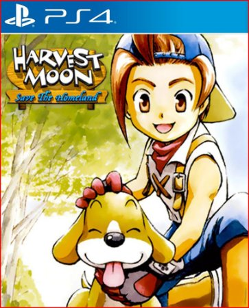 HARVEST MOOM SAVE THE HOMELAND PS4 PSN MIDIA  DIGITAL