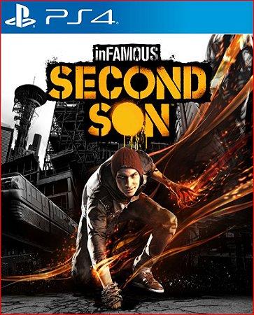 INFAMOUS SECOND SON PS4 PSN MIDIA DIGITAL