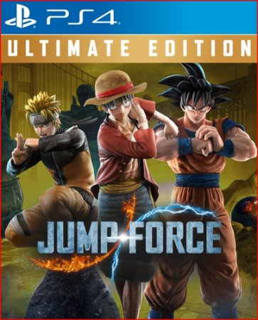 JUMP FORCE ULTIMATE EDITION PS4 PORTUGUÊS MÍDIA DIGITAL