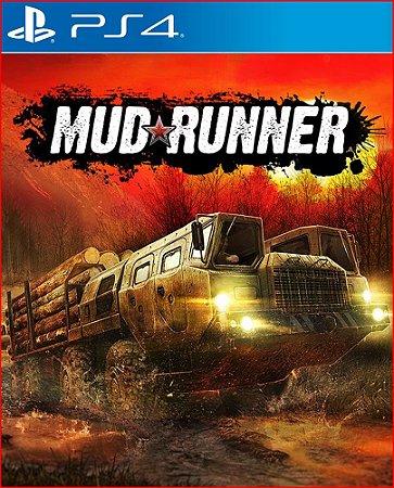 MUDRUNNER PS4 PSN MIDIA DIGITAL