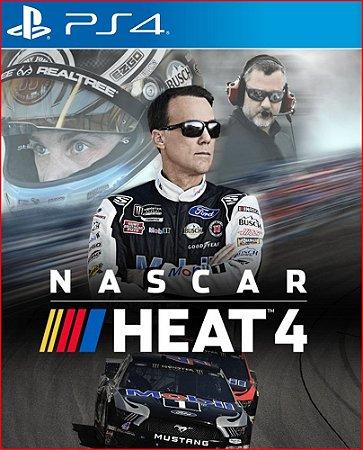NASCAR HEAT 4 PS4 PSN MIDIA DIGITAL