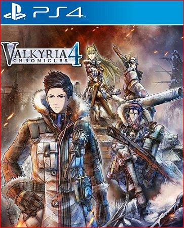 valkyria chronicles 4 ps4 midia digital