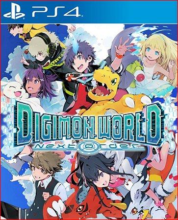 Digimon World: Next Order PS4 - Mídia Digital