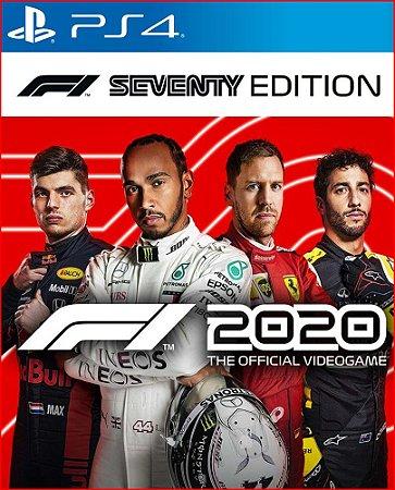 F1 2020 - Seventy Edition PS4 midia digital