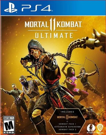 Mortal Kombat 11 Ultimate ps4 Mídia Digital