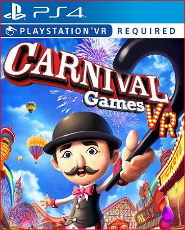 CARNIVAL GAMES VR PS4   MÍDIA DIGITAL