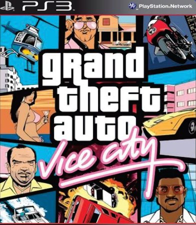 GTA VICE CITY - PS3 MÍDIA DIGITAL