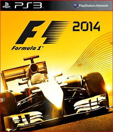 F1 2014 PS3 PSN   PORTUGUÊS PROMOÇÃO