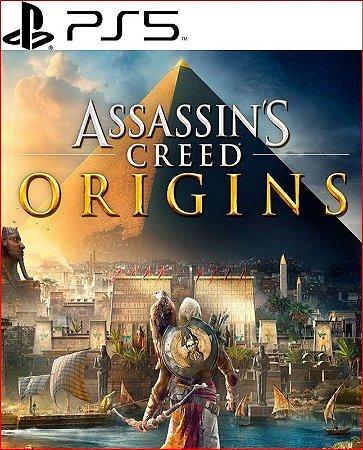assassin´s creed origins ps5 psn midia digital